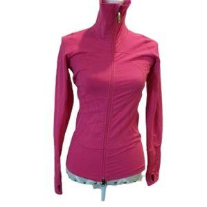 Lululemon fuchsia high neck jacket